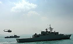 رویارویی نیروی دریایی ایران بادزدان دریایی