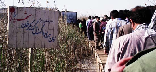 لحظات ناب حضور ۴۰نفر از شیعیان هند در مناطق عملیات جنوب