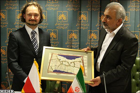 نقشهای از جهان مربوط به سال 1460 با درج نام خلیج فارس به کتابخانه ملی ایران هدیه شد