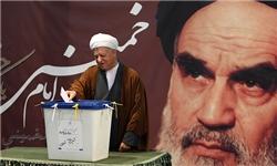 رای هاشمی رفسنجانی در حسینیه جماران/توصیه به روسای قوا
