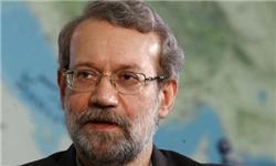 لاریجانی با 173 رأی رئیس موقت مجلس نهم شد