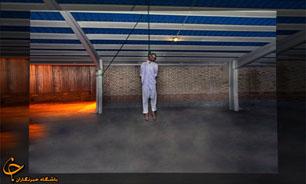 لحظه اعدام عامل ترور شهید علیمحمدی/عکس