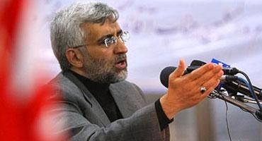 جلیلی در اولین همایش ملی اقتصاد مقاومتی هشدار: داد غربیها دچار اشتباه محاسباتی نشوند/زمان برای اعمال فشار به ملت ایران رو به پایان است