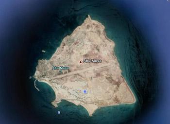 موقعیت جغرافیایی ابوموسی