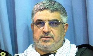 سردار کاظمینی خبر داد:خنثی سازی چند عملیات انتحاری و ترور در نقاط حساس تهران توسط سپاه