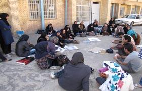 برگزاری کارگاه طراحی بافت روستایی دررفسنجان