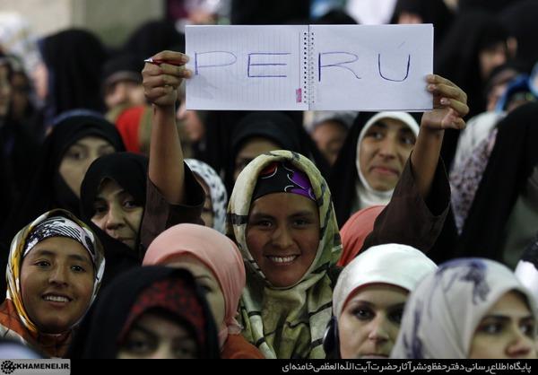 روایتی از حضور زنان اجلاس بیداری اسلامی در حسینیه امام خمینی رحمهالله