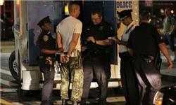 گزارشی از رفتار پلیس نیویورک با فعالان جنبش وال استریت+عکس