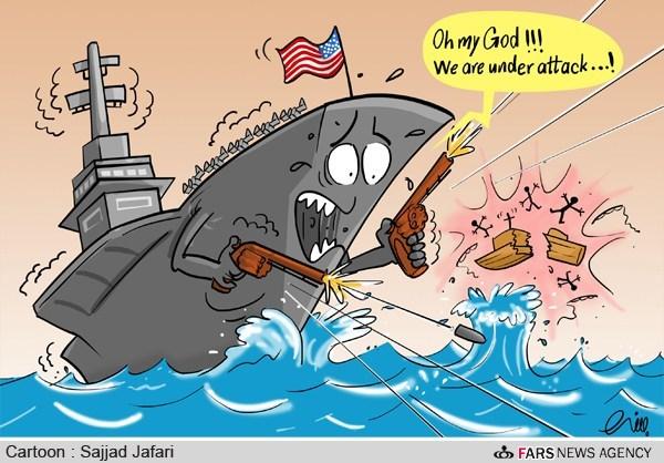 آمریکا با یک قایق ماهیگیری وارد جنگ شد