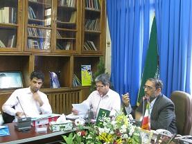 جلسه ستاد توسعه بخش کشاورزی در رفسنجان