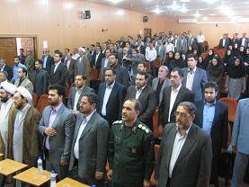 طی قرائت حکمی پور محمدی رئیس دادگستری رفسنجان شد