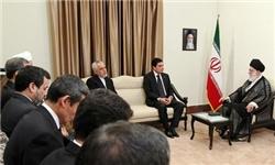 رئیسجمهور ترکمنستان با رهبر معظم انقلاب دیدار کرد