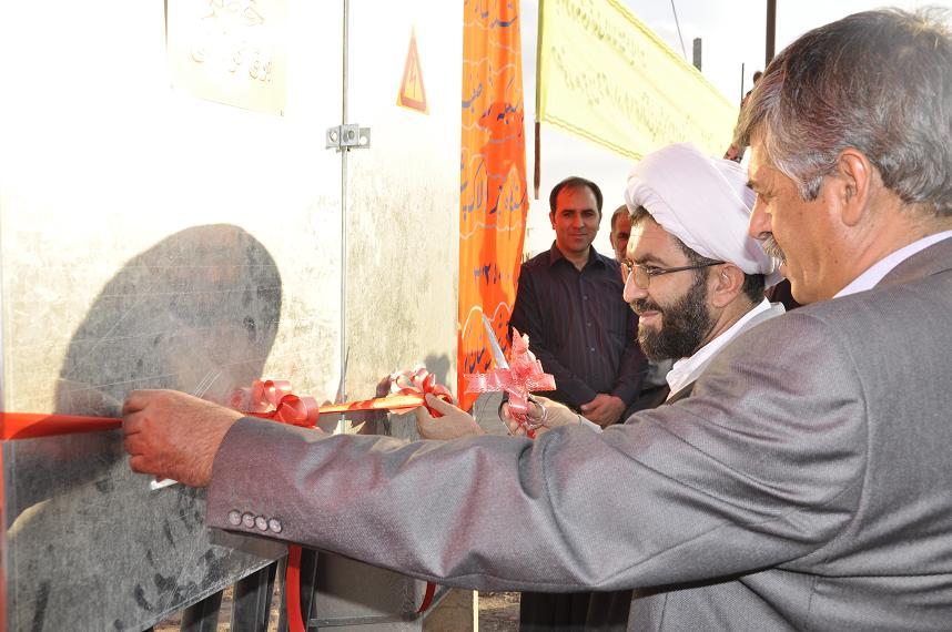 افتتاح پروژه برق رسانی شهرک آبفاو۳پروژه تأمین برق در رفسنجان