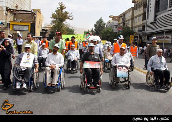 گزارش تصویری 5 راهپیمایی روز جهانی قدس در شیراز