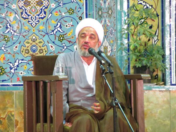 سخنرانی حجت الاسلام آقا تهرانی در شب آخر ماه رمضان، مسجد جامع رفسنجان