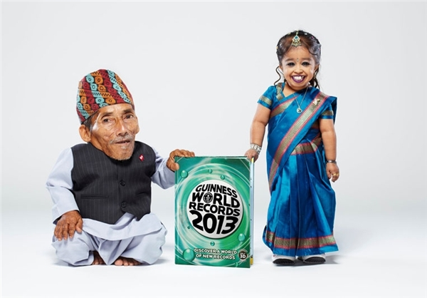 کوچکترین زن و مرد جهان + عکس