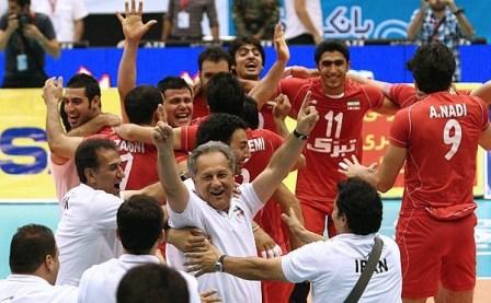 والیبال ویک شب رویایی برای ایرانیان