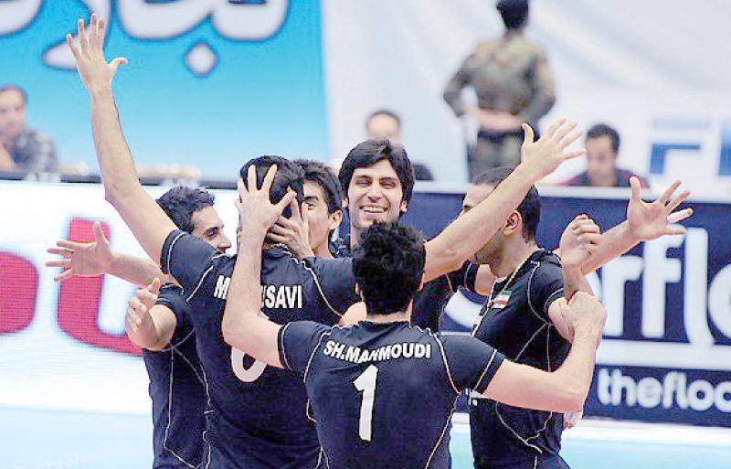 یک قدم تا خوشبختی والیبال ایران