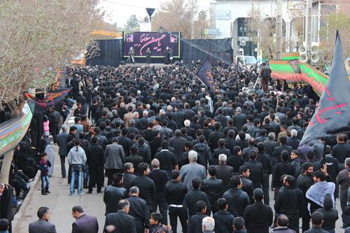 اجتماع سراسری عزاداران حسینی رفسنجان