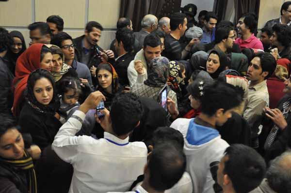 استقبال رفسنجانی ها از حضور برترین های آیین اختتامیه جشنواره فیلم فجر +عکس