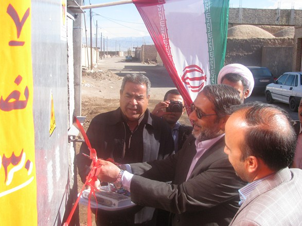 بهره برداری ۴۳۵ خانوار روستایی از نعمت برق در رفسنجان