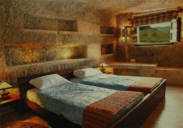 کندوان سومین هتل صخرهای دنیا+ عکس