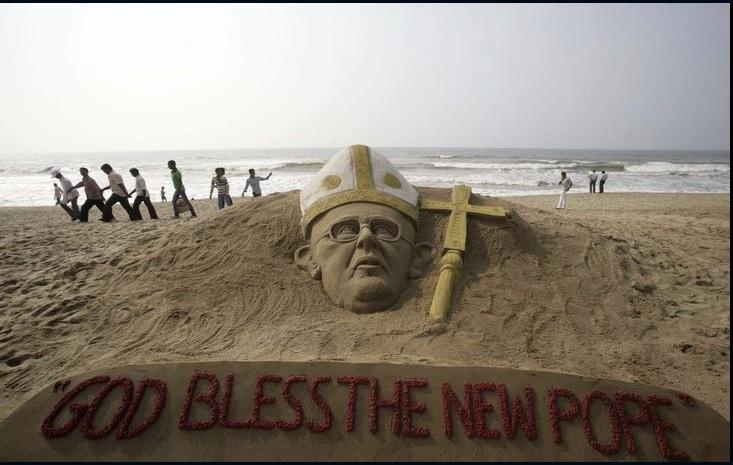 عکس/ تبریک جالب به پاپ جدید