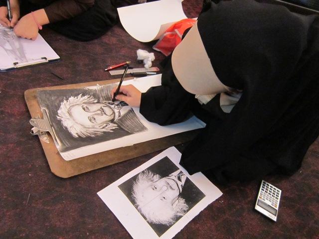 مسابقات دانش آموزی در رشته های مختلف هنری + عکس