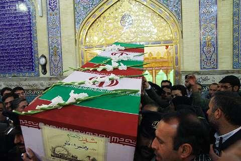 وداع با یک شهید گمنام/میزبانی رفسنجانی ها برای لاله ی کربلایی