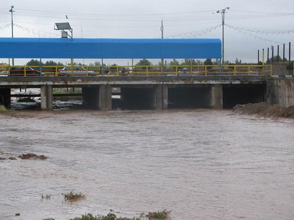 رودخانه شور رفسنجان پس از ۲۰ سال مجددا جاری شد