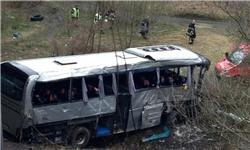 ۵ کشته در تصادف مرگبار اتوبوس حامل نوجوانان روس در بلژیک+تصاویر