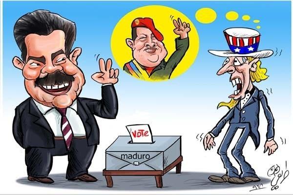 نیکلاس مادورو، معاون چاوز رئیسجمهور ونزوئلا شد