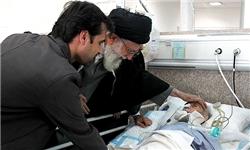 دیدار مقام معظم رهبری از قطعهای بهشتی