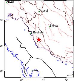 زلزله 6.1 ریشتری مردم بوشهر را به خیابانها کشاند
