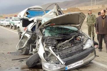 عدم توجه به جلو راننده پراید ۴ کشته و مجروح برجای گذاشت