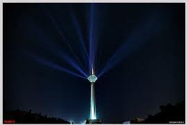 برج میلاد تهران امشب خاموش میشود
