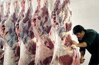 ۸۰۰ کیلوگرم گوشت فاسد در رفسنجان ضبط شد