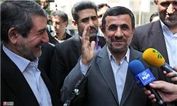 پاسخ جالب احمدی نژاد درباره رایزنی های تاییدصلاحیت مشایی