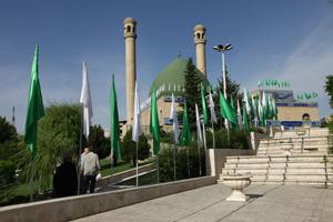نماز خانه مسجد بلال کارگران در رفسنجان افتتاح شد