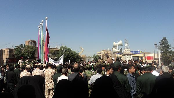 تشییع جنازه شهیدپور یوسفی