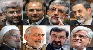 صلاحیت ۸ نفر در انتخابات ریاست جمهوری احراز شد/ هاشمی و مشایی رد شدند
