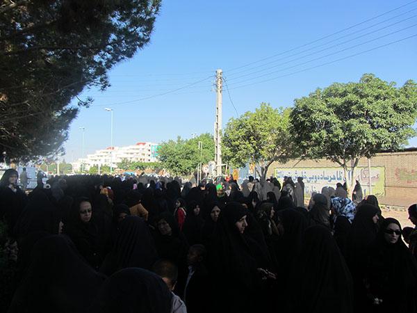 گزارش تصویری همایش پیاده روی بانوان رفسنجانی