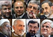 اسامی هشت کاندیدای انتخابات ریاست جمهوری یازدهم