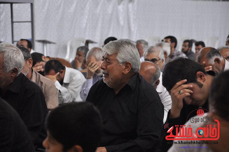 گزارش تصویری مراسم ارتحال امام در رفسنجان