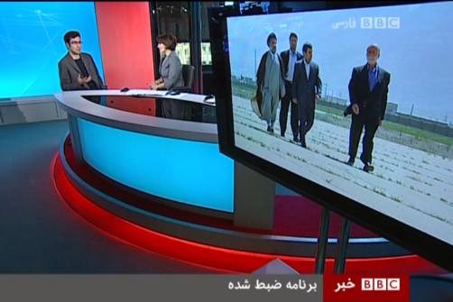 سردار حاج قاسم سلیمانی و امام خامنه ای هدف خوشایند بی بی سی+تصاویر