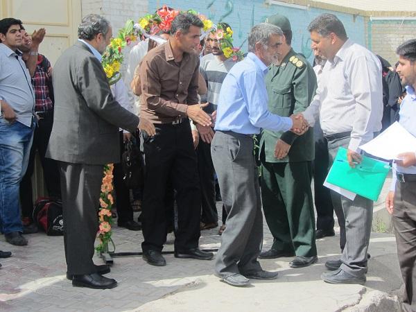 اعزام کاروان از رفسنجان به مرقد مطهر امام خمینی