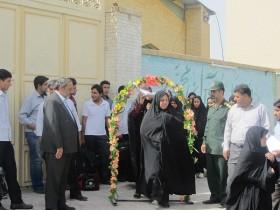 اعزام کاروان از رفسنجان به تهران