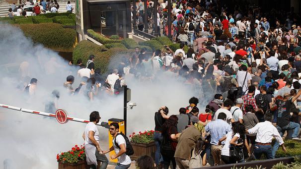 آخرین عکس ها از آشوب ترکیه