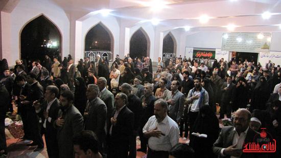 مراسم تحویل سال نو در جوار قبور شهدا رفسنجان (11)