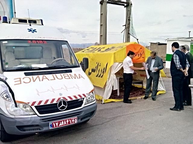 ۴۰۹ مسافر نوروزی ازخدمات ایستگاههای سلامت رفسنجان بهره بردند